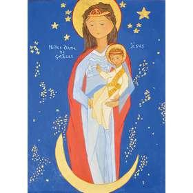 Icono de Nuestra Señora de las Gracias con San Miguel y San Bernardo (Cotignac)