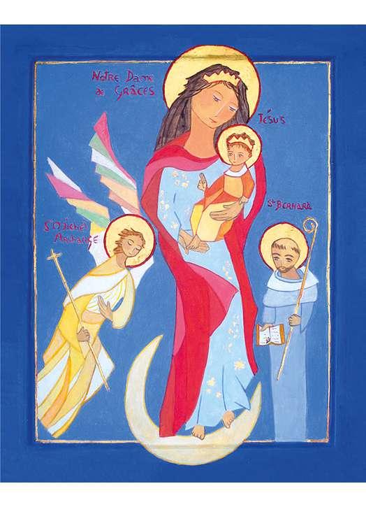 Icoon van Onze Lieve Vrouw van Graces (Cotignac)
