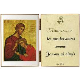 Le Christ et St Jean