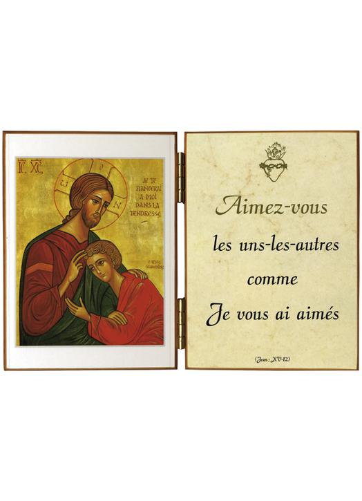 Christ and St John