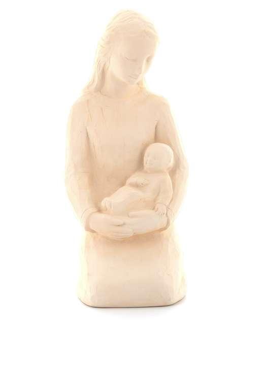Statue de Notre-Dame de l'Abandon, 18 cm, ton pierre