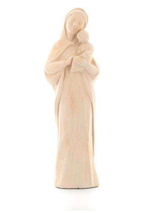 Statue of Our Lady of Tenderness, 25 cm, color hones