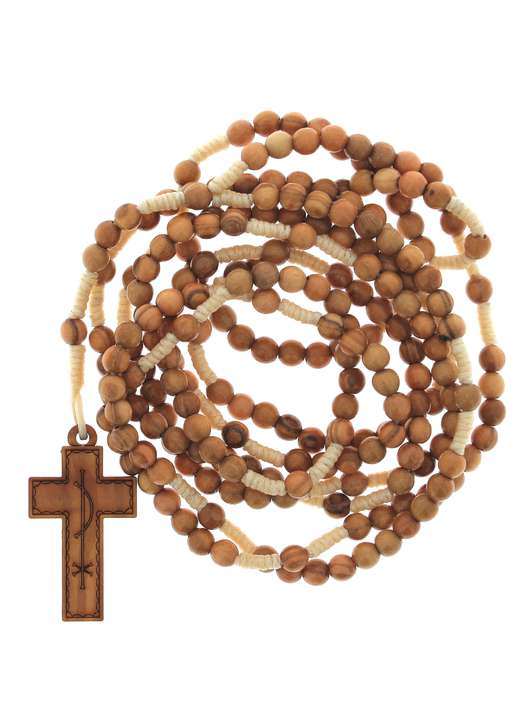 Rosary of 20 tens in rope