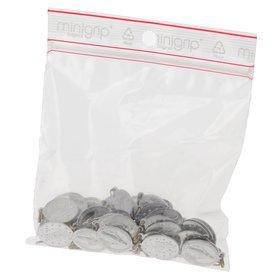 Médailles miraculeuses aluminium avec anneau soudé - 18 mm - lot de 50 (Paquet de 50 médailles)