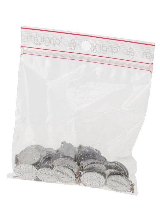 Miraculeuze medaille - aluminium met gelaste ring - 18 mm - pak van 50 (Paquet de 50 médailles)