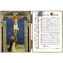 The Crucifix and Saint Dominic
