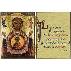 La Vierge au signe