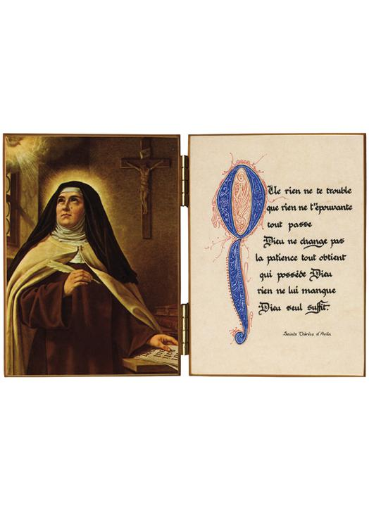 Andere Heiligen De H Theresia Van Avila Réf D161a
