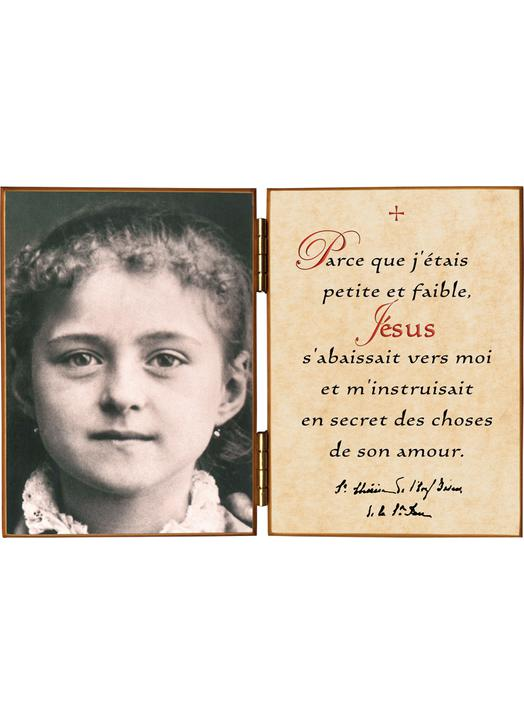 Thérèse at eight years