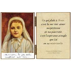 Ste Thérèse de l'Enfant Jésus en première communiante