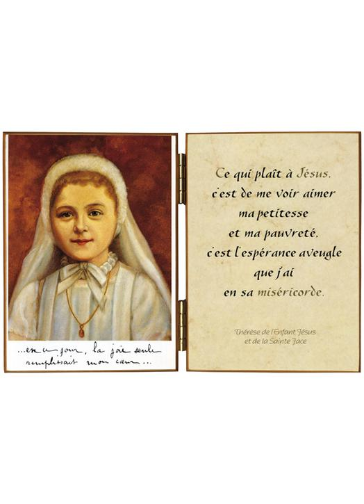 St Thérèse of the Child Jesus at her First Communion
