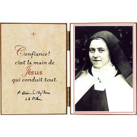 "St Thérèse ""with the Rosary"""