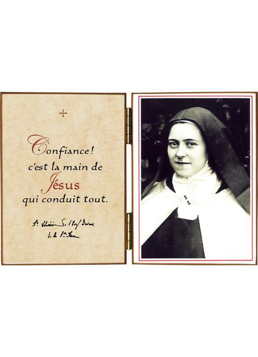 """Ste Thérèse """"au chapelet"""""""
