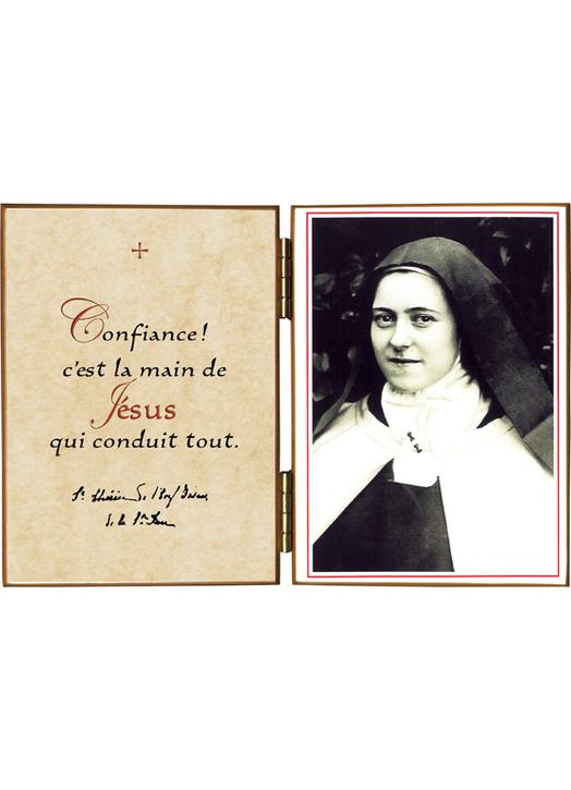 """St Thérèse """"with the Rosary"""""""