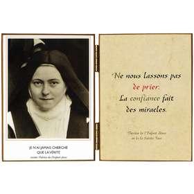 """Ste Thérèse """"au perron"""" (détail)"""