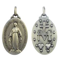 Miraculous medal - 32 mm