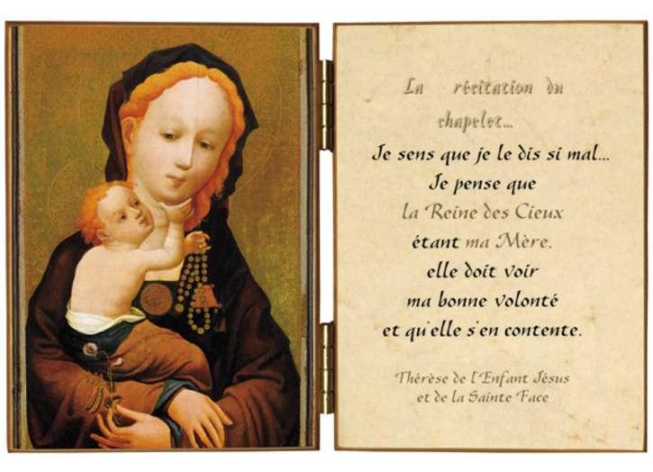 La Vierge au chapelet