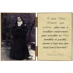 """Elisabeth de la Trinité """"au crucifix"""""""
