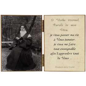 La Beata Isabel de la Trinidad con el breviario