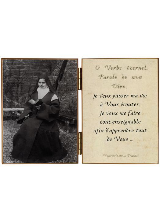 """Elisabeth de la Trinité """"au bréviaire"""""""