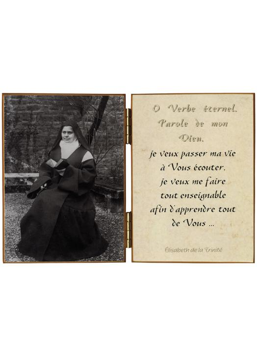 """Elisabeth of the Trinity """"with the breviary"""""""