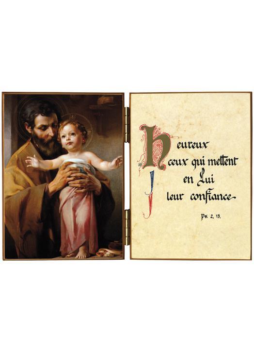 Saint Joseph end The Child Jesus