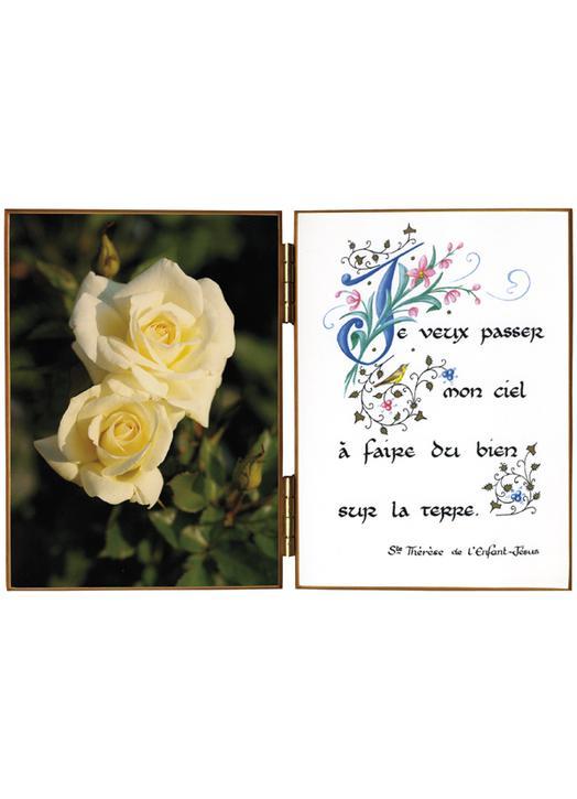 Rose au naturel