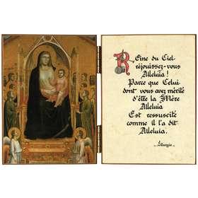 Nuestra Señora con el Niño Jesús, Santos y Ángeles