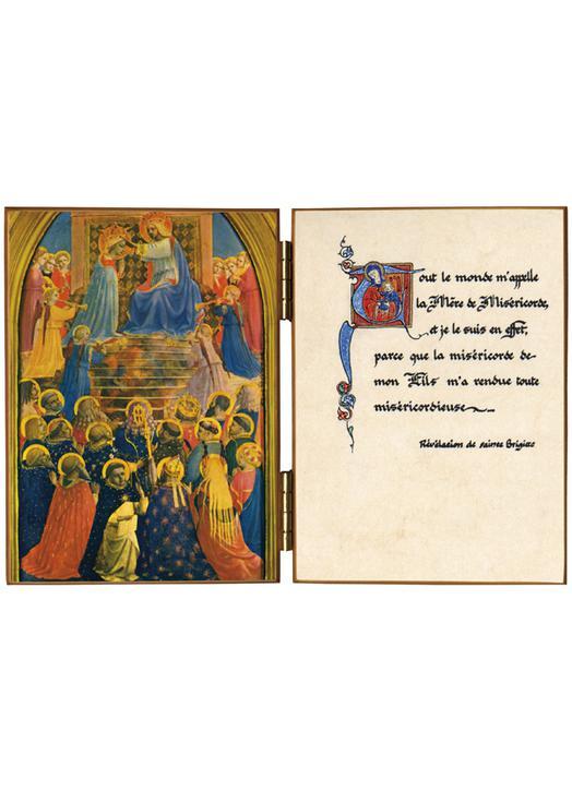 Le Couronnement de Notre Dame avec les anges