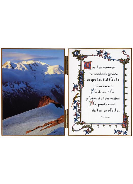 Horizontes, cumbres y matices. Viento de Oeste. El Mont Blanc