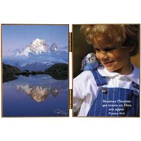 Lac Blanc : miroir des monts - L'aiguille verte et les Drus