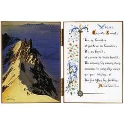 Arête sud-est du Mont-Maudit - le col de la Fourche