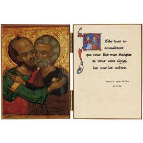 The kiss of peace - St Peter and St Paul