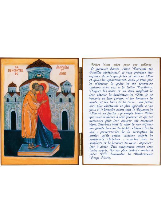 La rencontre de St Joachim et Ste Anne
