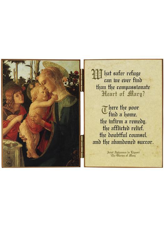 La Vierge, l'Enfant-Jésus et st Jean