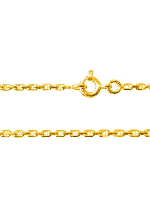 collier - maille gourmette (métal doré)