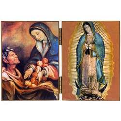 Notre-Dame de Guadalupe et Saint Jean Diego