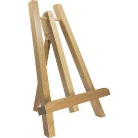 Caballete (madera) 27 cm (Vue de face en biais)