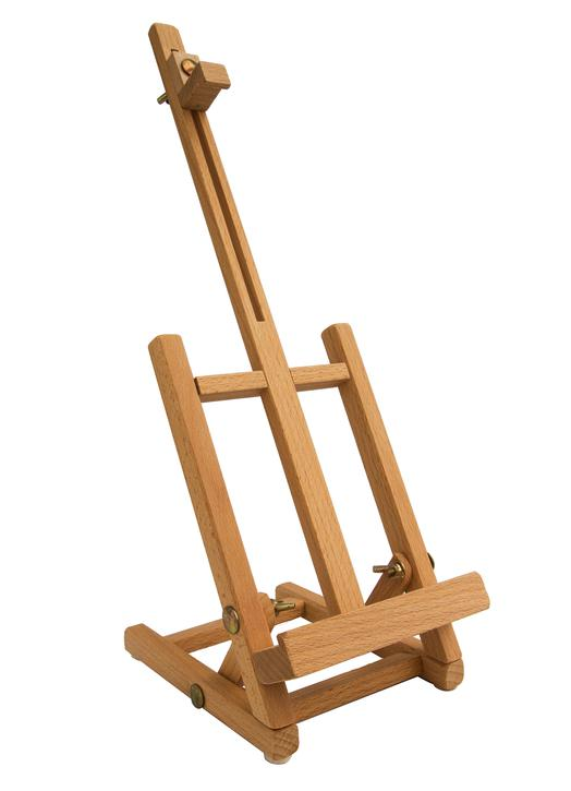 Petit chevalet de table 42 cm (Vue de face en biais)