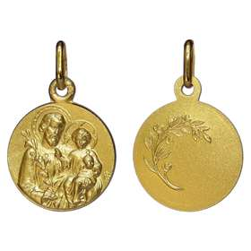 Saint Joseph gold medal - 16 mm