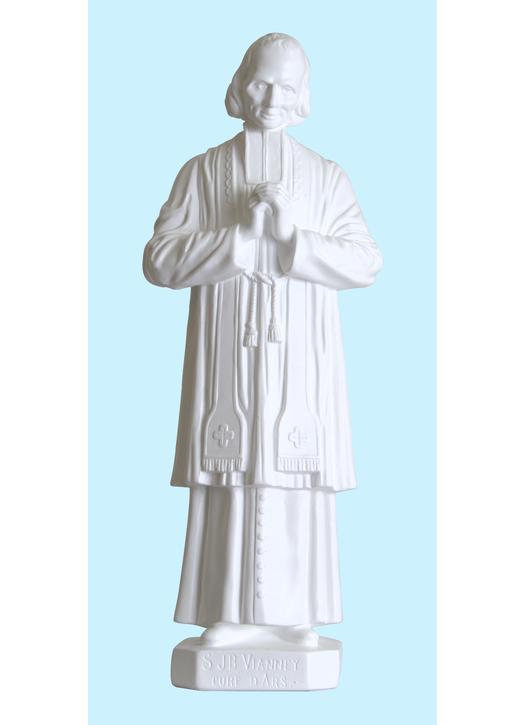 Saint John Vianney (Curé of Ars), 43 cm (Vue de face)