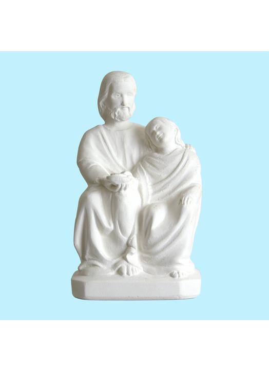 Statue du Christ et saint Jean (Vue de face)
