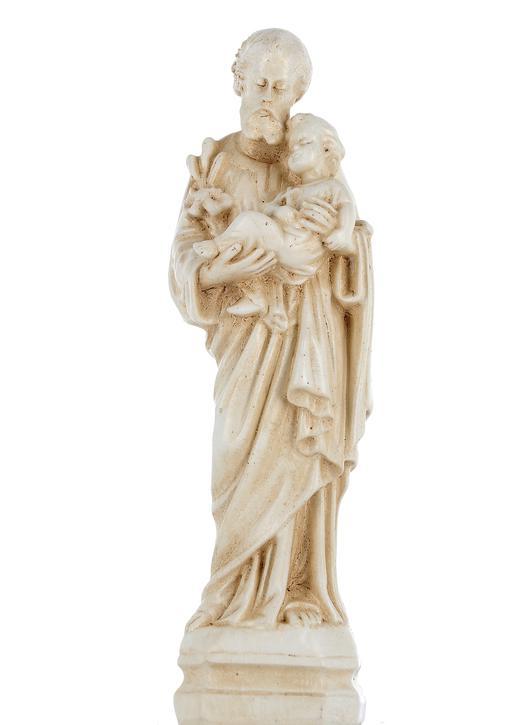Saint Joseph, 15 cm (Vue de face)
