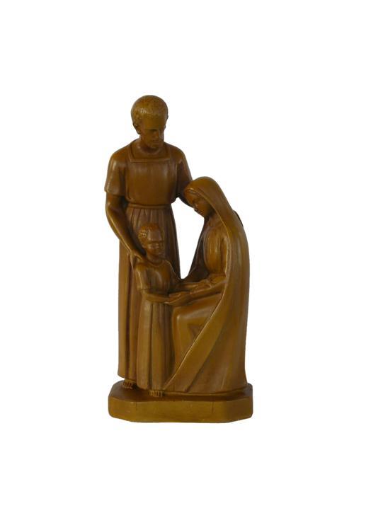 Statue de la Sainte Famille, 20 cm (Vue de face)
