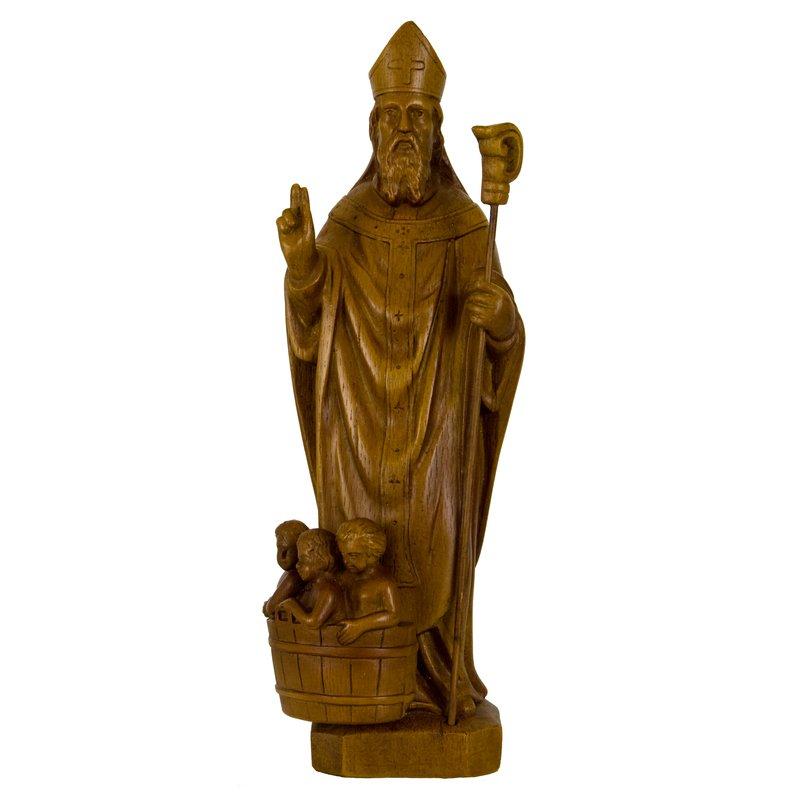 Saint Nicolas, 25 cm (Vue de face)