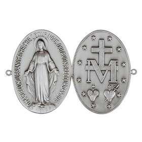 Plaque porte Médaille Miraculeuse