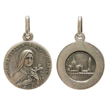 Medals of St Teresa and Padre Pio