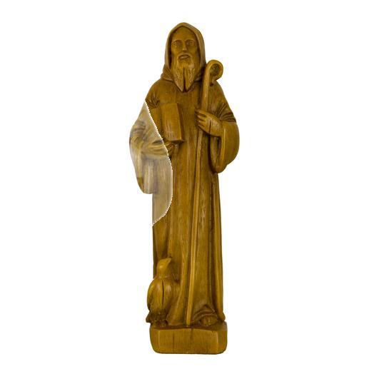 Saint Benoît - 17 cm (Vue de face)