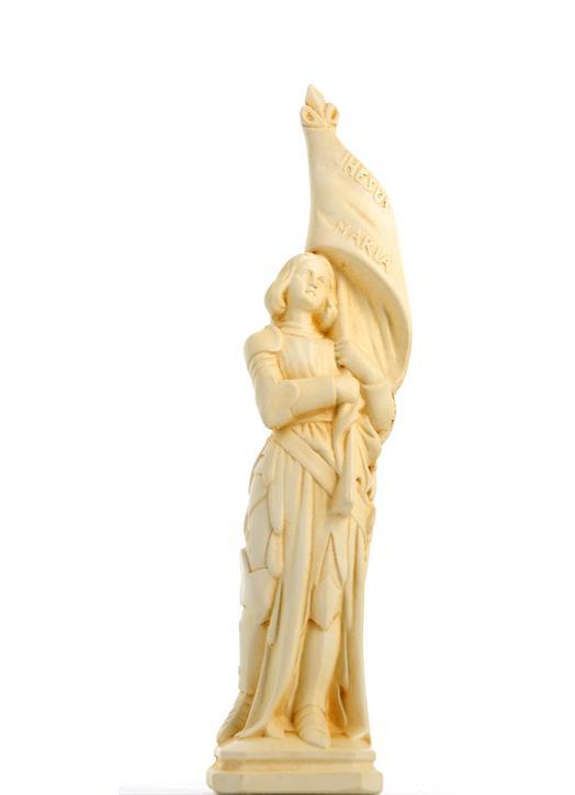 santa Jeanne de Arc, 21 cm (Vue de face)