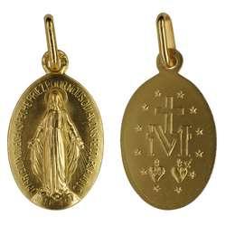 Medalla Milagrosa - 18 mm
